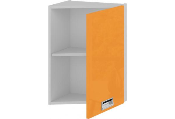 Шкаф навесной торцевой (правый) БЬЮТИ (Оранж) - фото 2