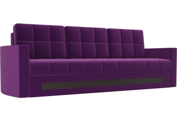 Диван прямой Белла Фиолетовый (Микровельвет) - фото 1