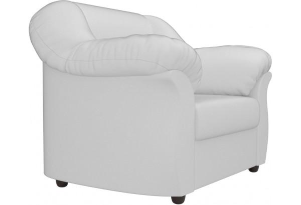 Кресло Карнелла Белый (Экокожа) - фото 3