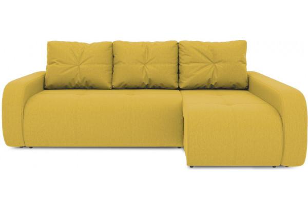 Диван угловой правый «Томас Т2» (Poseidon Curcuma (иск.замша) желтый) - фото 2