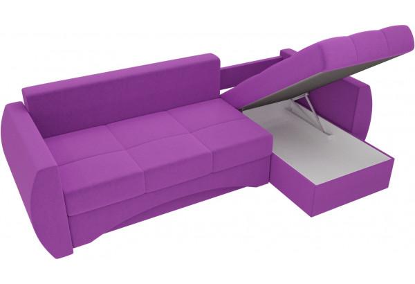 Угловой диван Сатурн Фиолетовый (Микровельвет) - фото 5