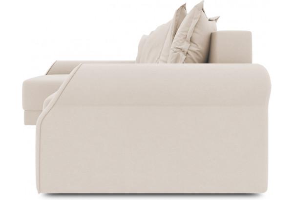 Диван угловой левый «Люксор Т2» (Kolibri Cream (велюр) кремовый) - фото 3