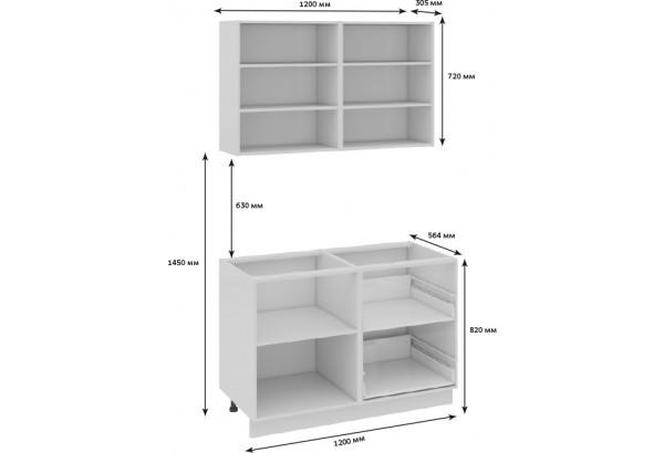 Кухонный гарнитур длиной - 180 см Фэнтези (Вуд) - фото 3