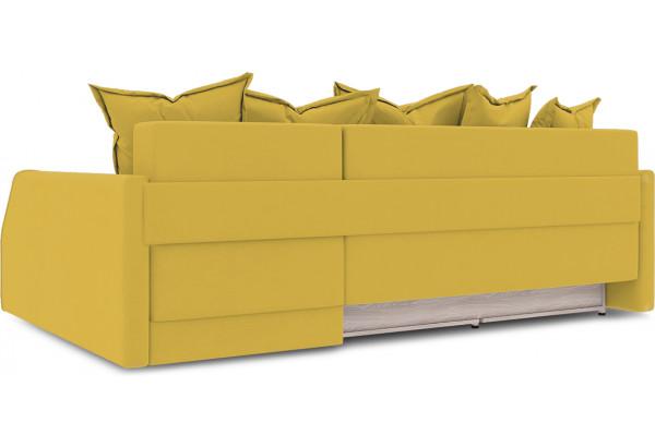 Диван угловой правый «Люксор Slim Т2» (Poseidon Curcuma (иск.замша) желтый) - фото 4