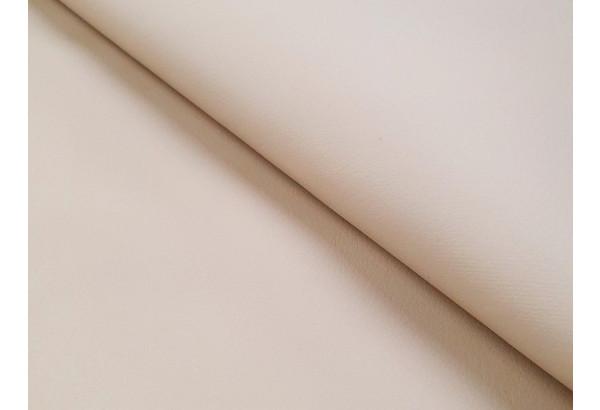 Прямой диван Эллиот бежевый/коричневый (Экокожа) - фото 8