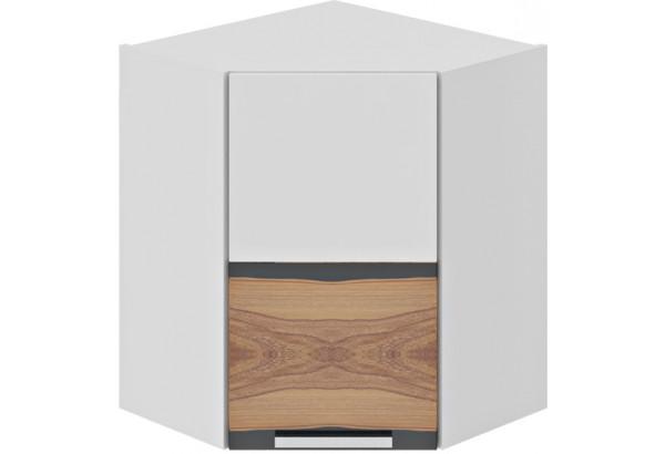 Шкаф навесной угловой с углом 45 (левый) Фэнтези (Вуд) - фото 2