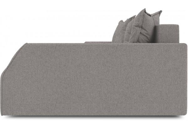 Диван угловой правый «Люксор Slim Т2» (Levis 25 (рогожка) Светло - коричневый) - фото 5