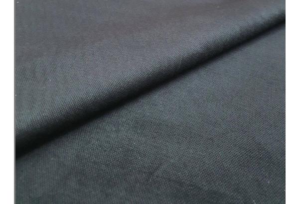 Кухонный прямой диван Люксор черный/фиолетовый (Микровельвет) - фото 3