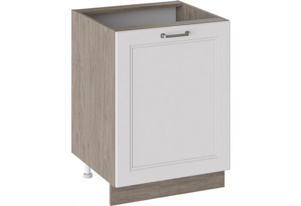 Шкаф напольный (ОДРИ (Белый софт)) - фото 1