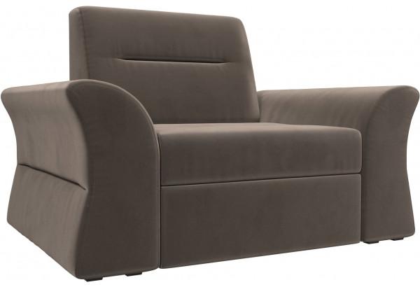 Кресло Клайд Коричневый (Велюр) - фото 1