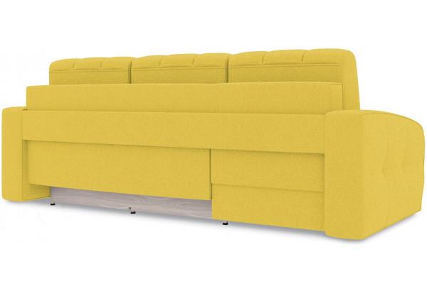 Диван угловой левый «Аспен Т1» (Neo 08 (рогожка) желтый) - фото 4