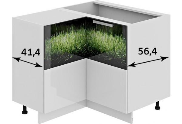Шкаф напольный нестандартный угловой с углом 90° ФЭНТЕЗИ (Грасс) - фото 3