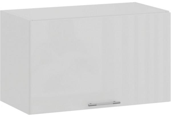 Шкаф навесной c одной откидной дверью «Весна» (Белый/Белый глянец) - фото 1