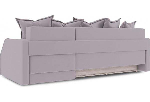 Диван угловой правый «Люксор Slim Т1» (Poseidon Pale Lavender (иск.замша) бледно-лавандовый) - фото 4