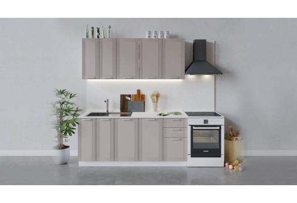 Кухонный гарнитур «Ольга» длиной 180 см (Белый/Кремовый) - фото 1