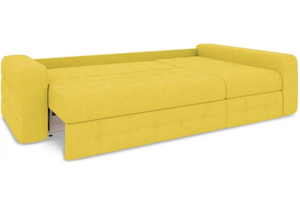Диван угловой правый «Райс Т2» (Neo 08 (рогожка) желтый) - фото 7