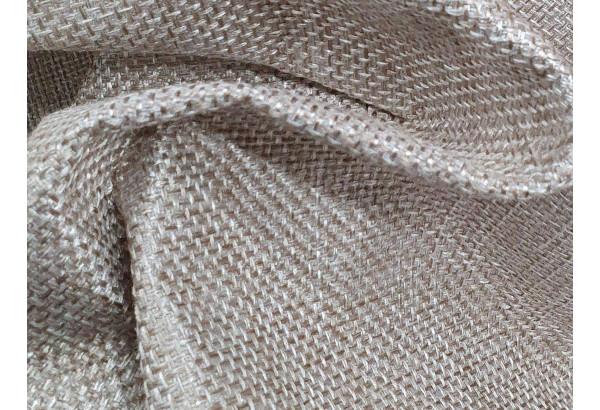 П-образный диван Сатурн бежевый/коричневый (Рогожка/Экокожа) - фото 8