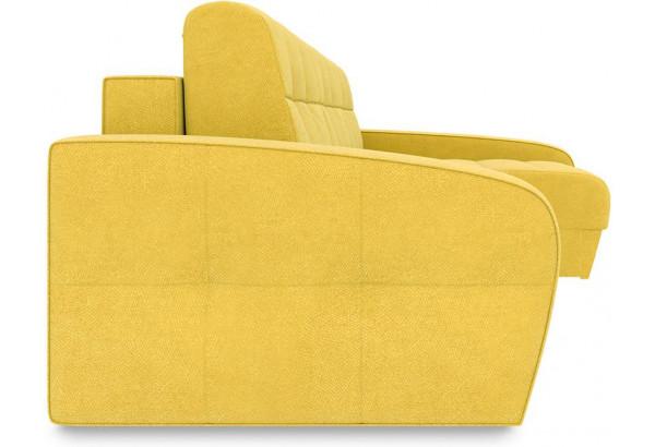 Диван угловой правый «Аспен Slim Т2» Maserati 11 (велюр) желтый - фото 5