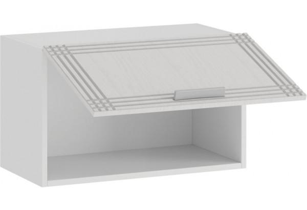 Шкаф навесной c одной откидной дверью «Ольга» (Белый/Белый) - фото 2