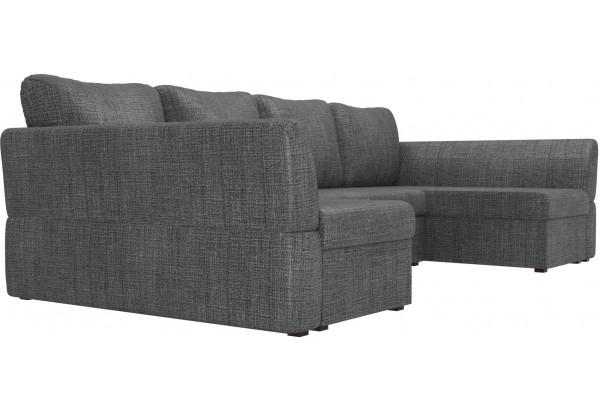 П-образный диван Гесен Серый (Рогожка) - фото 3