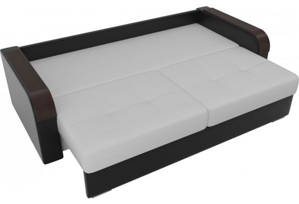 Прямой диван Мейсон Белый/Черный (Экокожа) - фото 6