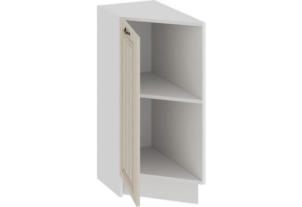 Шкаф напольный торцевой с одной дверью «Лина» (Белый/Крем) - фото 2