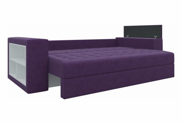 Диван прямой Пазолини Фиолетовый (Микровельвет) - фото 3
