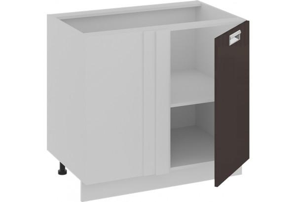 Шкаф напольный с планками для формирования угла (правый) БЬЮТИ (Грэй) - фото 2