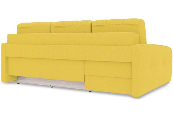 Диван угловой левый «Аспен Slim Т2» (Neo 08 (рогожка) желтый) - фото 5