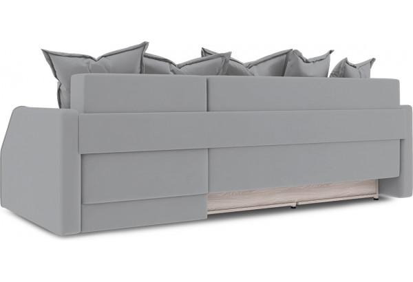 Диван угловой правый «Люксор Slim Т1» (Poseidon Grey (иск.замша) серый) - фото 4