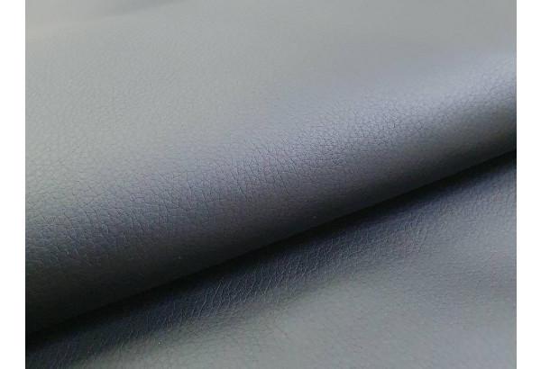 Угловой диван Монако Белый/Черный/Цветы (Экокожа/рогожка) - фото 9