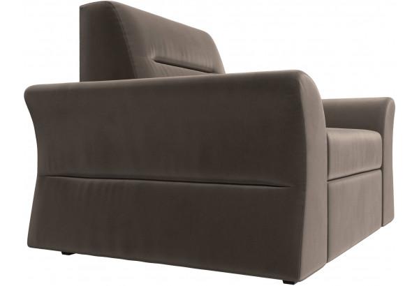 Кресло Клайд Коричневый (Велюр) - фото 3
