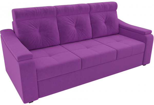 Диван прямой Джастин Фиолетовый (Микровельвет) - фото 4