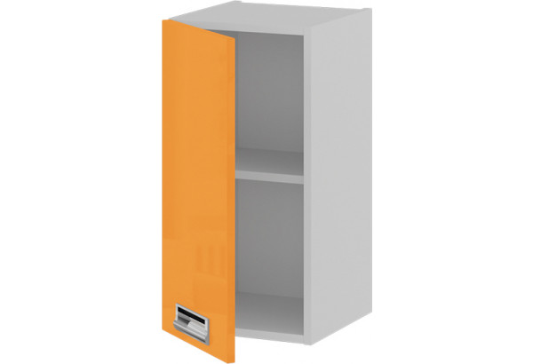 Шкаф навесной (левый) БЬЮТИ (Оранж) - фото 2