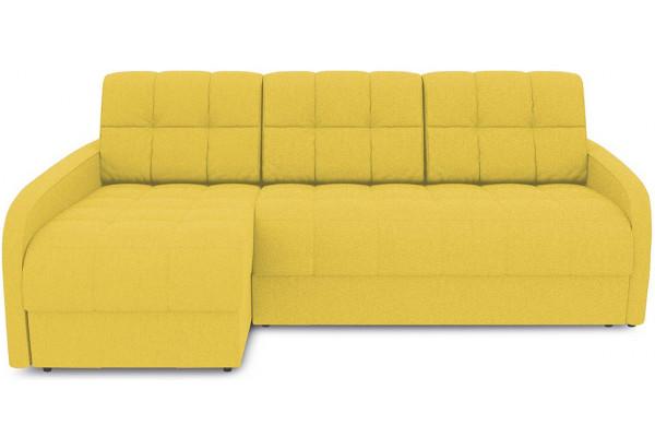 Диван угловой левый «Аспен Slim Т2» (Neo 08 (рогожка) желтый) - фото 2