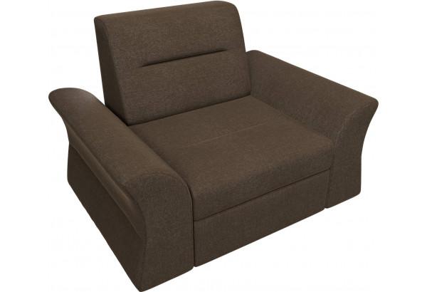 Кресло Клайд Коричневый (Рогожка) - фото 6