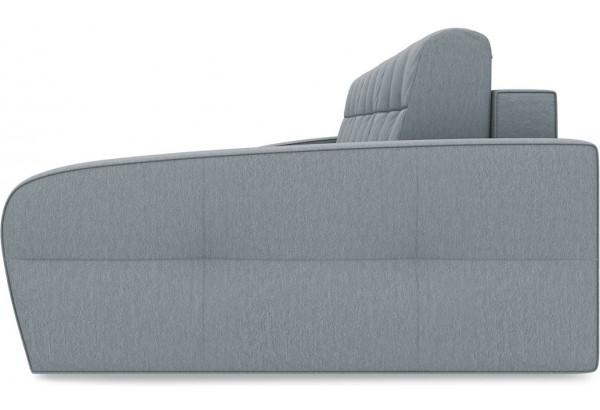 Диван угловой правый «Аспен Slim Т2» (Kolibri Silver (велюр) серый) - фото 4
