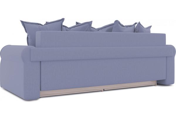 Диван «Люксор» (Poseidon Blue Graphite (иск.замша) серо-фиолетовый) - фото 3