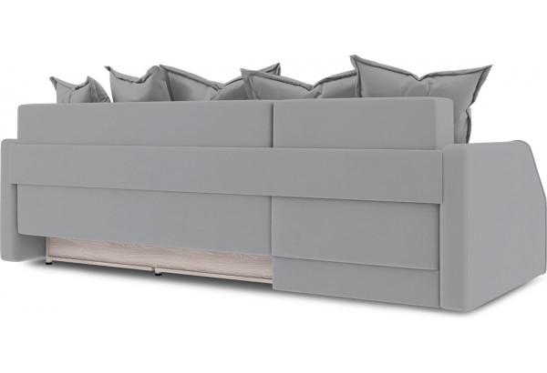 Диван угловой левый «Люксор Slim Т1» (Poseidon Grey (иск.замша) серый) - фото 4