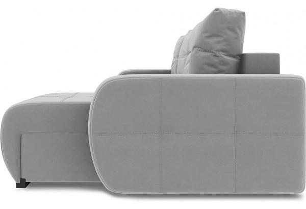 Диван угловой правый «Томас Slim Т1» (Neo 14 (рогожка) сиреневый) - фото 3