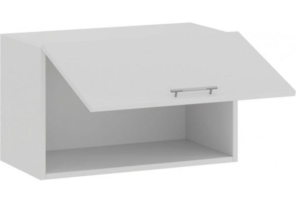 Шкаф навесной c одной откидной дверью «Весна» (Белый/Белый глянец) - фото 2
