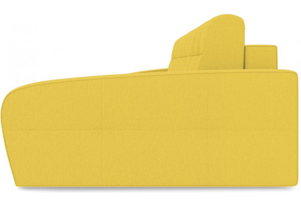 Диван угловой правый «Аспен Slim Т2» (Neo 08 (рогожка) желтый) - фото 4