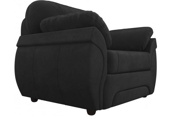 Кресло Бруклин Черный (Велюр) - фото 3