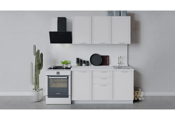 Кухонный гарнитур «Ольга» длиной 150 см (Белый/Белый) - фото 1