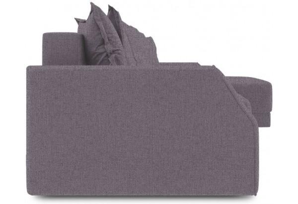 Диван угловой правый «Люксор Slim Т1» (Levis 68 (рогожка) Темно - фиолетовый) - фото 2
