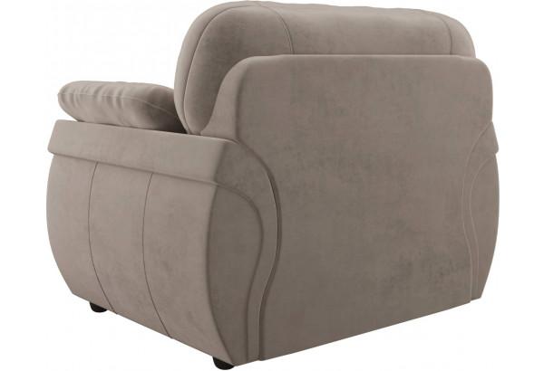 Кресло Бруклин Коричневый (Велюр) - фото 5