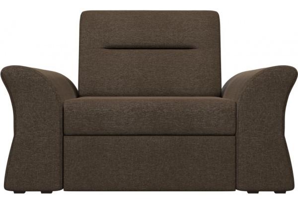 Кресло Клайд Коричневый (Рогожка) - фото 2
