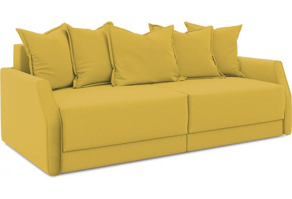 Диван «Люксор Slim» (Poseidon Curcuma (иск.замша) желтый) - фото 1