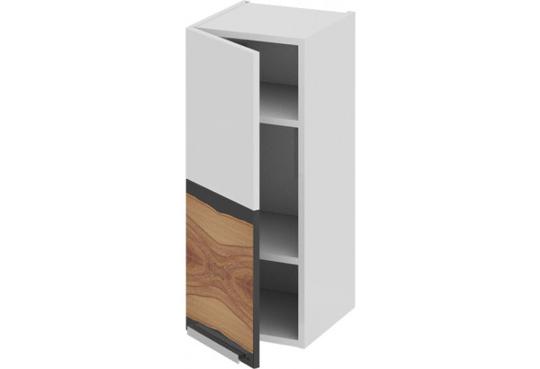 Шкаф навесной (левый) Фэнтези (Вуд) 300x323x720 - фото 1