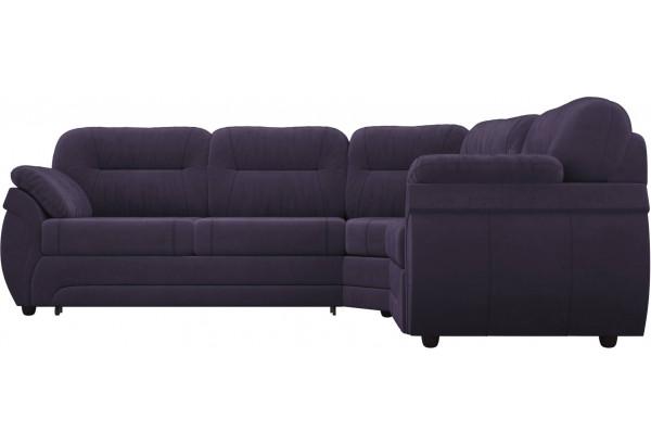 Угловой диван Бруклин Фиолетовый (Велюр) - фото 2